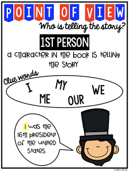 Presidents' Day: Abraham Lincoln (Point of View, Research, Craftivity)