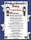 Presidents Day Activities: 11 Different Activities