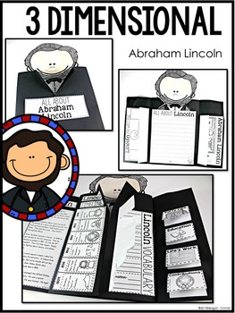 Presidents Day Social Studies Activities (George Washington Abraham Lincoln)
