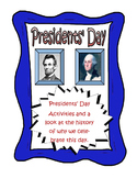 History of Presidents' Day Article and Activities