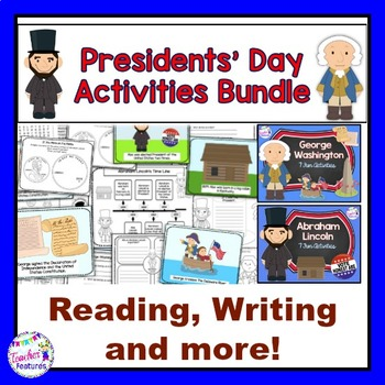 Presidents' Day Activities Bundle with George Washington & Abraham Lincoln