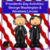 Presidents' Day Activities | George Washington and Abraham Lincoln