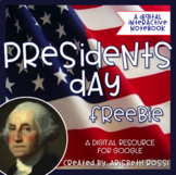 Presidents Day Activities Google Slides™ Version