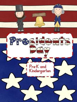 President's Day Activities  Pre-kindergarten, Kindergarten