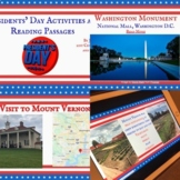 Presidents' Day Activities, Vocabulary and Reading Passages