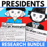 Presidents Day Activities   Washington and Lincoln