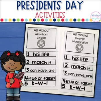 President's Day Activities and Flip Book