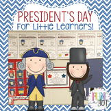 Presidents' Day Activities for Little Learners!