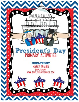 President's Day Activities that support common core goals