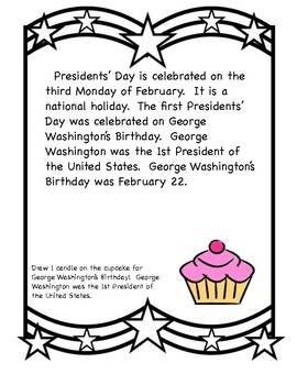 Presidents' Day Activity Booklet