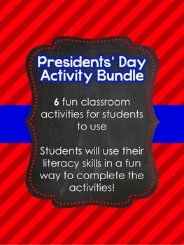 Presidents' Day Activity Bundle
