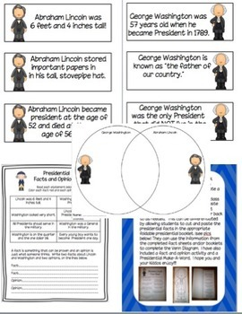 President's Day Activity Pack
