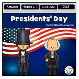 Presidents' Day Activity Pack with Abraham Lincoln & Georg