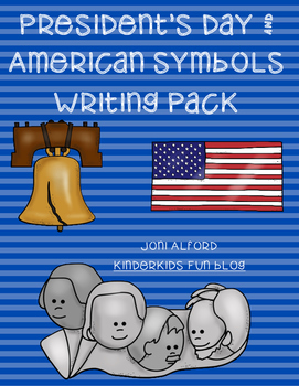 Presidents' Day & American Symbols Writing Pack
