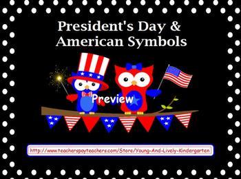 President's Day & American Symbols for Promethean Board