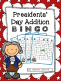 Presidents Day Addition BINGO