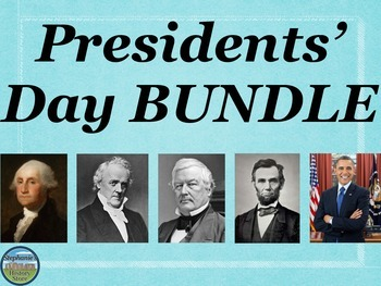 Presidents' Day BUNDLE