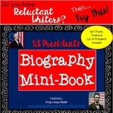 Presidents' Day Biography Mini Book