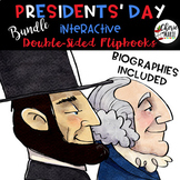 Presidents Day Reading Activities Worksheets Passages BUNDLE