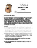 Presidents Day Biography in a Bag Activity elementary school project