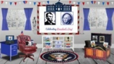 Presidents Day Virtual Classroom /History/Games/Distance Learning