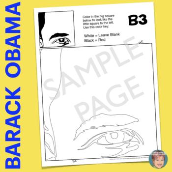 Barack Obama Collaboration Poster - Great Black History Month Activity
