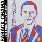 Barack Obama Collaboration Poster - Great Black History Month Activity