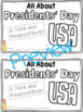 Presidents' Day Book Pack!