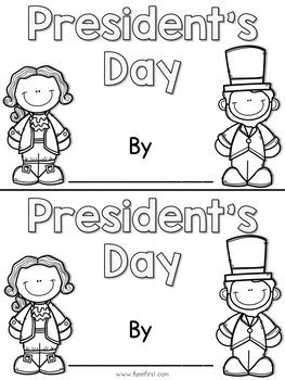 President's Day Booklet