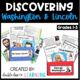 Presidents Day Bundle: George Washington and Abraham Lincoln Research Units