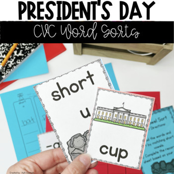 President's Day Literacy Centers