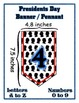 Presidents Day Chevron Pennant Bundle - Numbers & Letters - Any Message