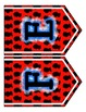 Presidents Day Chevron Pennant Bundle - Numbers & Letters