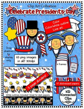 Presidents' Day Clip Art Collection