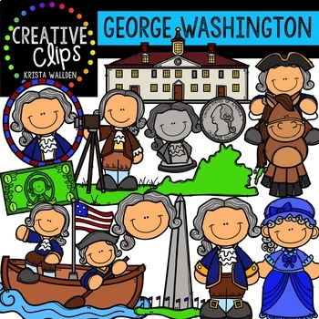 Presidents' Day Clipart Bundle {Creative Clips Clipart}