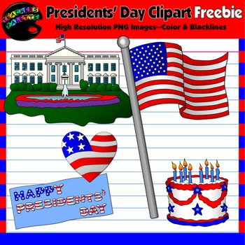 Presidents' Day Clipart Freebie