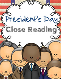 President's Day Close Reading