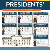 Presidents' Day - Presidents Day First Grade and Second Grade