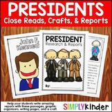 President Reports - Presidents Day Kindergarten - Presidents Day Craft