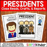 President Reports - Presidents Day Kindergarten - Presiden