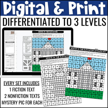 Presidents' Day Reading Comprehension Passages | Presidents' Day Activities