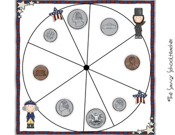 President's Day Coin Value/Recognition Games & Activities