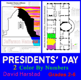 Presidents' Day - Art by Numbers Printables