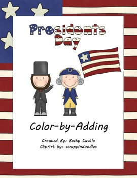 Presidents Day Color-by-Adding