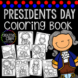 Presidents Day Coloring Book {Made by Creative Clips Clipart}