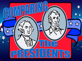 President's Day: Comparing The Presidents (Washington/Lincoln) Venn Diagram PPT