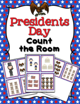Presidents Day Count the Room Activity