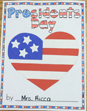 Presidents' Day Craft Book