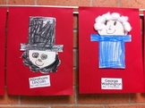 President's Day Craft George Washington and Abraham Lincoln FREE