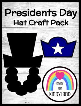 Presidents' Day Craft: Lincoln & Washington Hats